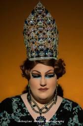 Ida Carolina in the embellished Miss Tri-Cities crown