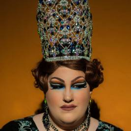 Ida Carolina in the embellished Miss Tri-Cities crown
