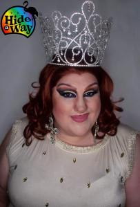 Ida Carolina in her Miss Hideaway At Large crown.