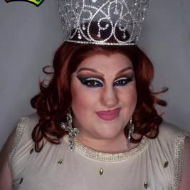 Ida Carolina in her Miss Hideaway At Large crown.